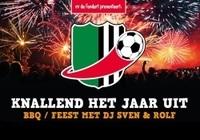29 december: Knallend het jaar uit: BBQ en feestavond met DJ Sven & Rolf!
