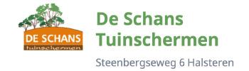 De Schans Tuinschermen